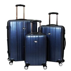 American Green Travel Polycarbonate Luggage Set *** Check out this great image  : Travel luggage