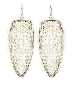 Sadie Spear Earrings in Gold - Kendra Scott Jewelry