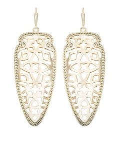 Sadie Spear Earrings in Gold - Kendra Scott Jewelry