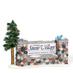"""Department 56: Products - """"Welcome To Snow Village"""" - View Accessories"""