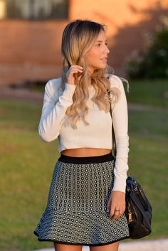 Look – Cropped Sweater Luisa Accorsi