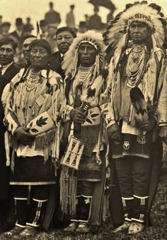 People of the Crow Nation.