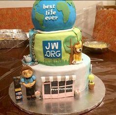 Hand made JW Cake in Anguila