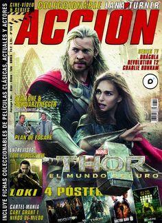 ACCIÓN Octubre 2013 - nº 1310 Portada Thor