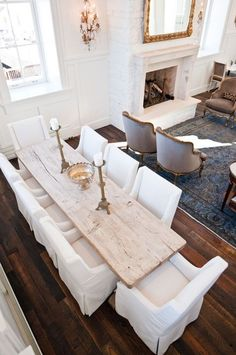 dining chairs and wood table