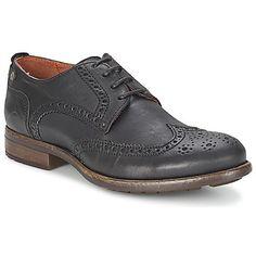Derby #Schuhe Goldmud EROS Schwarz (Preis-159,00 €)- Material :{Obermaterial - Leder, Innenmaterial - Leder, Decksohle - Leder, Laufsohle - Kautschuk} Abmessungen :(Absatzhöhe - 3.0cm)
