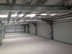We visited this car workshop in Sutton. It has 5 roller shutter doors running along its entire length, an arrangement makes conventional heating virtually impossible. However our shortwave infrared heaters controlled by time delay switches, will keep the staff happy and running costs under control. Car Workshop, Infrared Heater, Roller Shutters, Shutter Doors, Short Waves, Site Visit, Garage Doors, Running, Outdoor Decor
