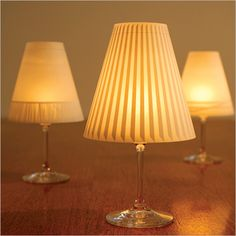 Gorgeous Helen paper tea light shades - instant party lighting