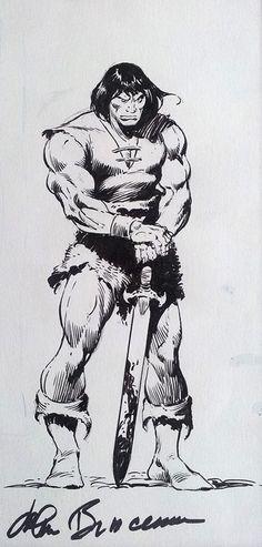 John Buscema on Conan the Barbarian