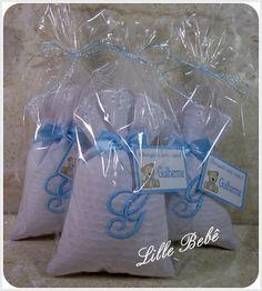 Lembrança para chá de bebê, chá de fralda, nascimento, batizado, aniversário e casamento. www.lillebebe.com.br