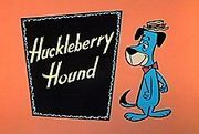 Huckleberry Hound Show - a classic of 1960s cartoon shows although it began its debut in the late 1950s.