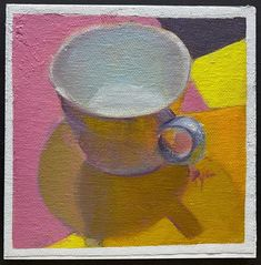 White Cups, Fine Art Gallery, Colorful Backgrounds, Shadows, Dads, The Originals, Canvas, Artist, Painting