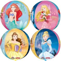 Disney Princess Dream Big Orbz Foil Balloon Ebay Home Garden