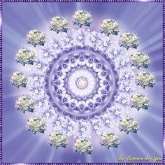 Cantinho de Imagens da Guerreira: Mandala Flores