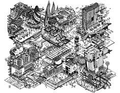 Illustration of architecture