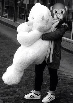 Human Size Teddy Bear, Big Teddy Bear, Teddy Girl, Costco Bear, Love Photos, Couple Photos, Best Gifts For Her, Girls Dream, Happy Girls