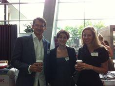 cyLEDGE @ MC 2012 - Paul Blazek, Clarissa Streichsbier & Martina Partl Salzburg, Conference, Events
