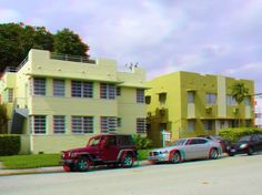 """1570 & 1580 Euclid Avenue - Style: Art Deco - Google """"anaglyph glasses"""" to view in 3D!"""