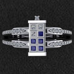 A TARDIS Engagement Ring Is a Real Thing of Beauty