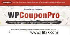 WP Coupon Pro Easily allow your clients customer For WordPress Plugin Free Download. It can also help you create coupons in offline mode.