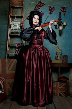 STEAMPUNK WEDDING GOWNS | Azrael's Accomplice Designs Gothic Steampunk Fantasy Wedding Gowns ...