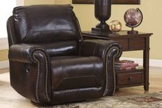 Home Comfort Furniture sells mattresses beds bedroom living and dining furniture recliners chairs and TV consoles in Raleigh NC and Cary ... & Ashley Arjen Rocker Recliner - Copper | Recliners | Raleigh ... islam-shia.org