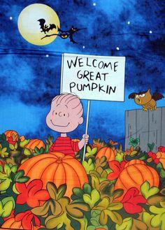 Peanuts Great Pumpkin Halloween Fabrics Panel by cbhindmarsh, $7.99