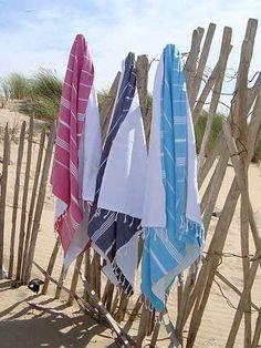 Une serviette de plage...