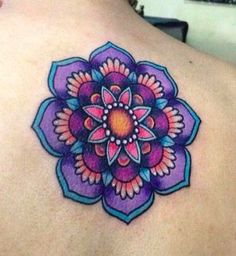 Great Tattoos, Beautiful Tattoos, Body Art Tattoos, New Tattoos, Hand Tattoos, Tatoos, Female Tattoos, Tattoo Drawings, Colorful Mandala Tattoo