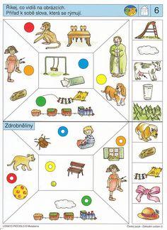 LOGICO PICCOLO | ČJ - Rozvíjení jazykového citu | Didaktické pomůcky a hračky - AMOSEK