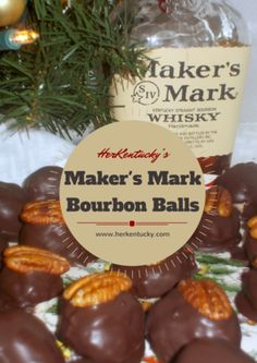 These Maker's Mark Bourbon Balls will have your guests swear you are in Loretto, where ever you are!