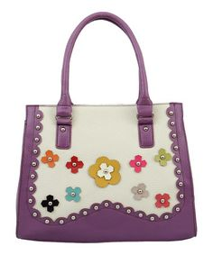 aac20f7e7442 Another great find on  zulily! Lavender Orchid Tote  zulilyfinds Fab Bag