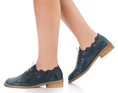 Christmas Sale 45% OFF Black Oxford Flat Shoes by ImeldaShoes