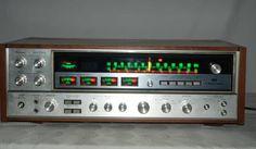 SanSui QRX 7500  Quad/4 Channel Receiver/ Serviced byTechnician Hear the Audio #Sansui