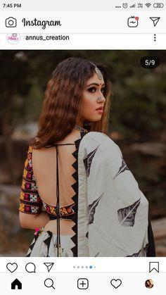 Choli Blouse Design, Saree Blouse Neck Designs, Choli Designs, Garba Dress, Navratri Dress, Indian Designer Outfits, Indian Outfits, Chanya Choli, Stylish Blouse Design