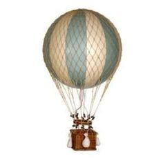 Authentic Models - Decoration Hot Air Balloon - Floating The Skies, Green - 8,5 cm diameter: Amazon.co.uk: Garden & Outdoors