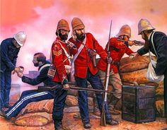 British Forces in Zululand 1879 British Armed Forces, British Soldier, British Army, Military Art, Military History, British Uniforms, Crimean War, War Image, British Colonial
