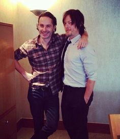 Andrew Lincoln, Norman Reedus