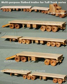 Truck Toys Plans:
