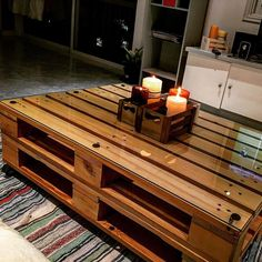 DIY Pallet Tables with great Furniture Ideas