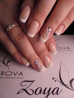 Wedding manicure for the bride 2017-2018  main trends description and photos