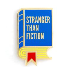 """Truth - Gold pin with colored enamel - Rubber backing - Measures 1"""" tall"""