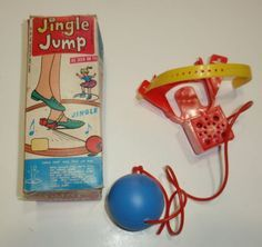 Rare Vintage 1960's Jingle Jump Toy in Original Box. Description from pinterest.com. I searched for this on bing.com/images