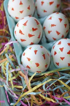 Decorating Easter eggs with sharpies. Such a great idea!
