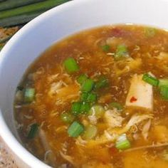Now this appeals: Szechuan-Style Hot and Sour Chicken Soup