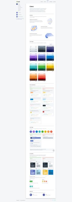 Design Guidelines, Brand Guidelines, Mobile Web Design, App Design, Web Colors, Colours, Ui Color, Brand Manual, Ui Patterns