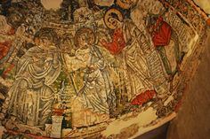 Coptic Literature and Manuscripts (Alin Suciu)    Fresco from the Monastery of the Syrians, Wadi Natrun, Egypt.