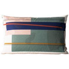 Color Block Cushion 4 (Large) Designed by Trine Andersen Modern Throw Pillows, Color Blocking, Colour Block, Danish Design, Cushions, Decor, House, Throw Pillows, Toss Pillows
