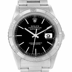 Men's Certified Pre-Owned Watches - Rolex TurnOGraph automaticselfwind mens Watch 16264 Certified Preowned ** Continue to the product at the image link. (This is an Amazon affiliate link)