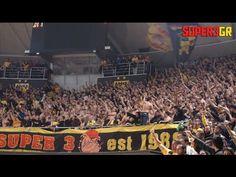 Aris Thessaloniki vs Neptunas Klaipeda 06.01.2016 || Super3.gr - YouTube Take Me To Church, King In The North, Thessaloniki, Basketball Court, Youtube, Sports, Image, Yellow, 10 Years